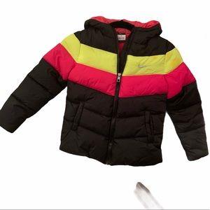 Nike puffer coat girls 6x NWT